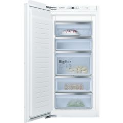 Bosch GIN81AEF0G/G 177X54 built in NoFrost freezer, DayLight, 7 compartments, 5 freezer drawers