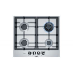 Bosch PCH6A5B90 60cm, 4 burners, 3.5kW Wok burner, FlameSelect, Cast Iron Finish