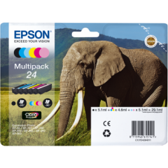 Epson C13T24284011 Multipack (24) 6 Colour