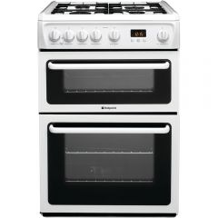 Hotpoint HAG60P Gas 60Cm Cooker