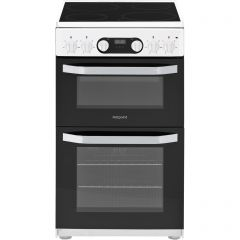 Hotpoint HD5V93CCW Freestanding Electric Cooker With Ceramic Hob