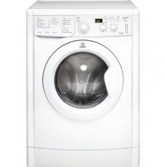 Indesit IWDD7143 1400 Spin, 7Kg & 5Kg, Digital, White