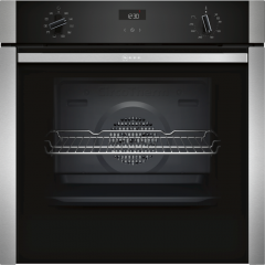 Neff B3ACE4HN0B Single Oven - Slide&Hide® With Fixed Handle
