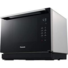 Panasonic NN-CF87LBBPQ 20L Flatbed Compact Solo Microwave Oven