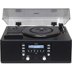 Teac LP-R550USB CD Recorder - Turntable - Cassette Deck - Radio - USB
