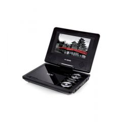 Akai A51006 10` Portable DVD Player With Free Carry Bag