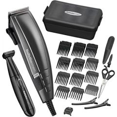 Babyliss 7447BU Home Hair Cutting Kit, Mains Power, (Battery Trimmer)
