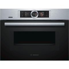 Bosch CMG656BS6B The Compact Oven With Microwave