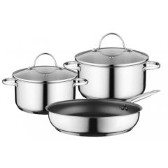 Bosch HEZ9SE030 Set Of 2 Pots And 1 Pan For Induction Hobs