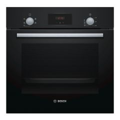 Bosch HHF113BA0B Built In Single Oven, Black