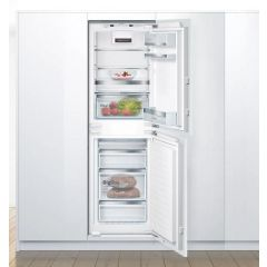 Bosch KIN85AFE0G Serie | 6, Built-In Fridge-Freezer With Freezer At Bottom, White