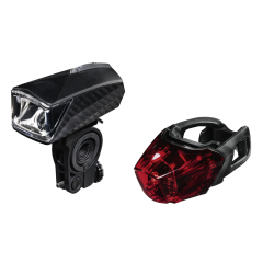 Hama 00178105 Bicycle Light Set, 92M Max. Easy Removable