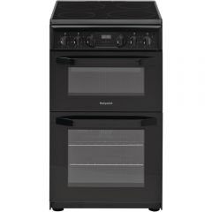 Hotpoint HD5V93CCB Electric Cooker With Ceramic Hob