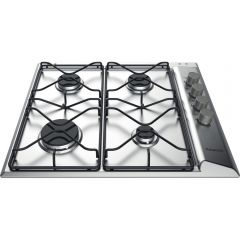 Hotpoint PAN642IXH 60Cm Gas Hob With Lateral Knob Control
