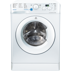 Indesit BWE71452WUKN Freestanding Innex Washer 7Kg 1400Spin, Push Go
