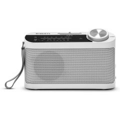 Roberts Radio R9993W 3-band battery portable radio with mains option in White