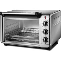 Russell Hobbs 26090 Mini Oven, Bake, Toast, Grill, Keep Warm Silver