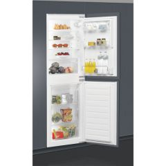 Whirlpool ART4550SF1 Bi 55Cm Fridge Freezer With Stop Frost Technology 50 50 White